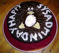 System Administrator Appreciation Day Cake
