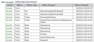 File Access Report, NetWrix File Server Change Reporter