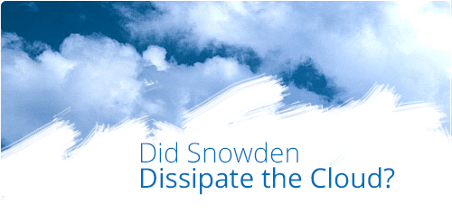 Snowden's impact on cloud computing