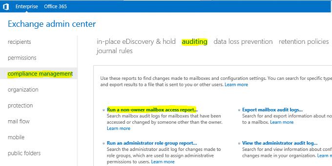 Exchange 2013 Mailbox Audit Logging – Netwrix Blog