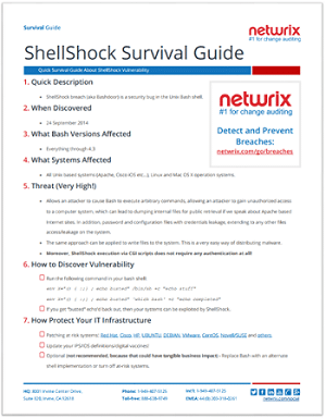 snapshot shellshock guide