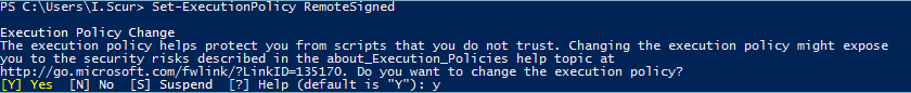 Windows PowerShell Scripting Tutorial for Beginners Changing policy setting