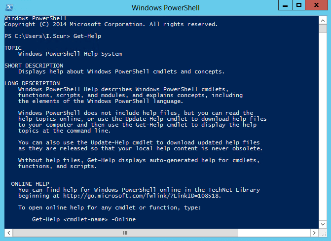 Windows PowerShell vs Command Prompt (cmd)