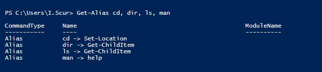Windows PowerShell vs Command Prompt (cmd)