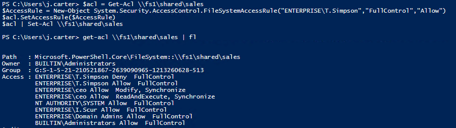 How to Manage File System ACLs with PowerShell Scripts
