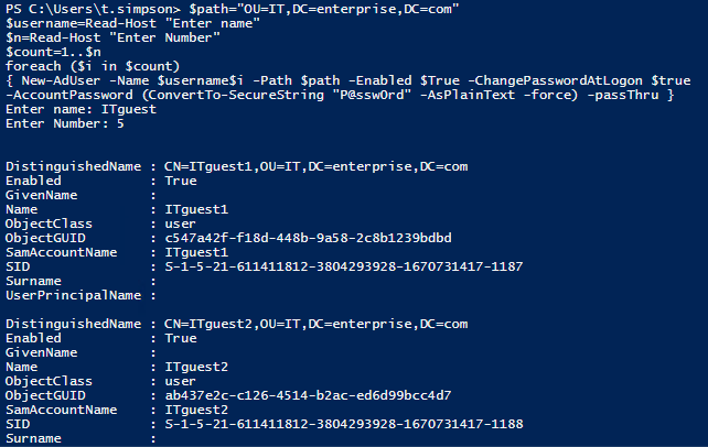How to Create New Active Directory Users with PowerShell