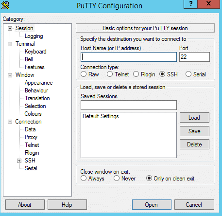 System Administrators Tools PuTTy