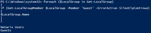 Account Managing with PowerShell 7