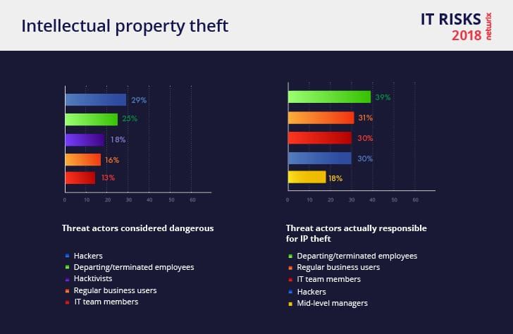 Netwrix 2018 IT Risks Report Intellectual Property Theft