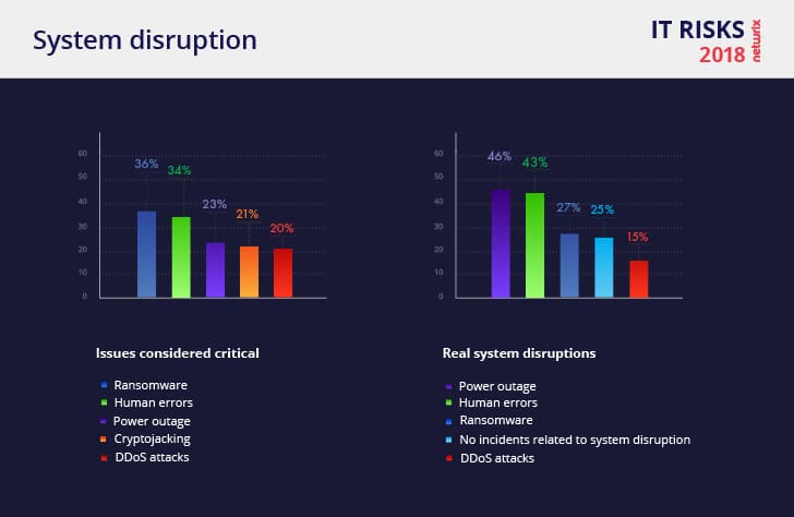 Netwrix 2018 IT Risks Report System Disruption