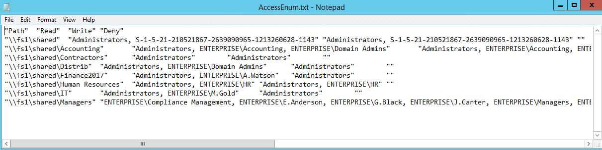 NTFS Permissions Tools Enum2