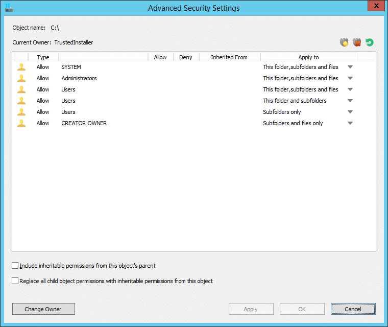 NTFS Permissions Tools MajorGeeks1