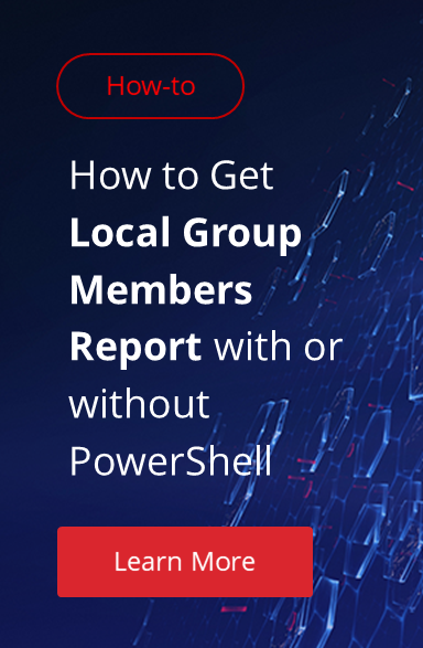 How to Add, Delete and Change Local Users and Groups with