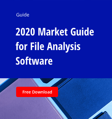 2020 Market Guide for File Analysis Software